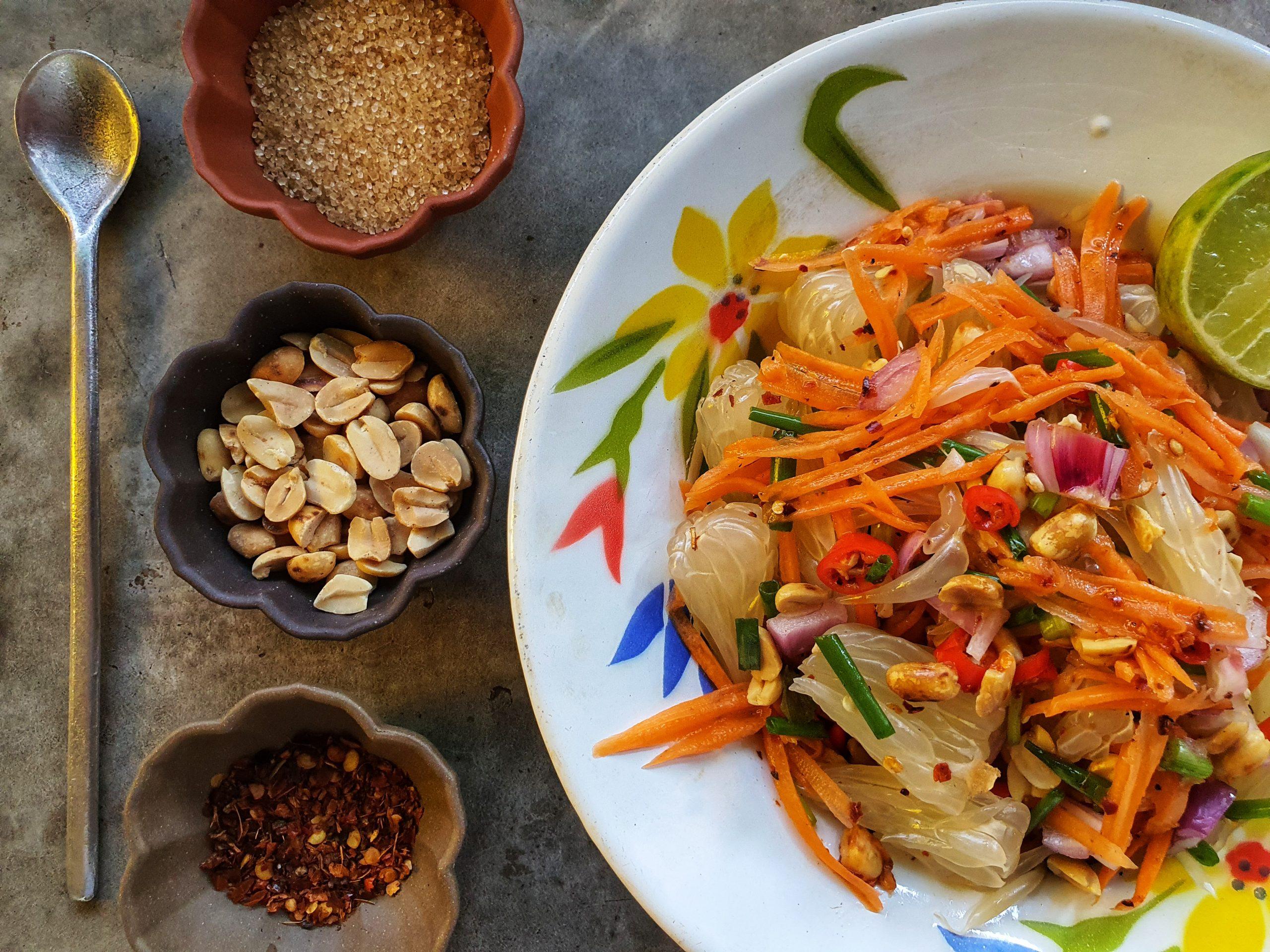 סלט פומלה תאילנדי
